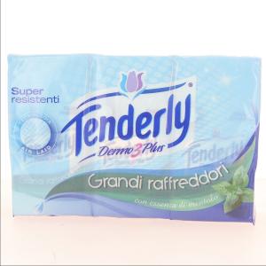 TENDERLY Set 24 Fazzoletti 6 Grandi Raffreddori