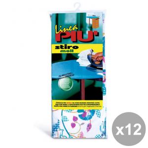 Set 12 LINEA PI├╣ Telo Per Asse Da Stiro 120X65 Cm. TIPO FOPPAPEDRETTI ART.0442G Bucato