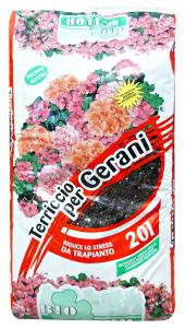 Terriccio gerani 20 lt. - Prodotto per piante