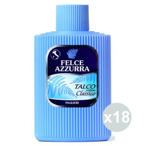 FELCE AZZURRA Set 18 Talco Barattolo 150 Gr. Cura Del Corpo