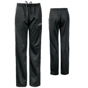 ASICS Pantaloni tuta sportivi lunghi donna ARMONY nero bianco T795Z5