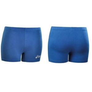 ASICS Pantaloncini shorts pallavolo donna elasticizzati WALL blu royal T542Z1