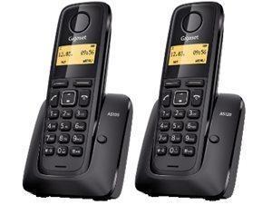 SIEMENS As120 Duo 2Dect/Idc/R50 Telefonia Fissa e Cordless