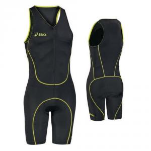 ASICS Body triathlon unisex zip e fondello BODY TRIATHLON nero lime T283Z6