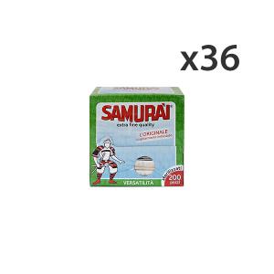 Set 36 Stuzz.imbustati 200 pz. samurai - Stuzzicadenti