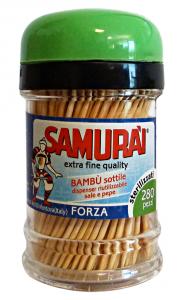 Stuzz.dispenser 280 pz. samurai art.631m - Stuzzicadenti