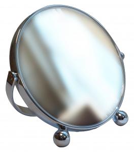ACCA KAPPA Specchio biluce argento 15 cm. - accessori toiletteria