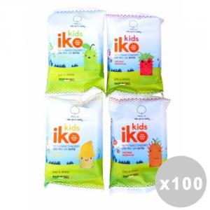 IKO Set 100 IKO Ditale-spazzolino kids gusti assortiti 6 anni