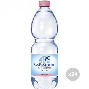 Set 24 SAN BENEDETTO Acqua ml500 naturale bevanda analcolica