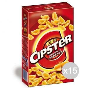 Set 15 SAIWA Cipster Patatine Fritte Gr 65 656314 Snack E Merenda Salata