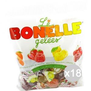 Set 18 BONELLE Caramelle Fida Gelee Miste Gr 200 Dolci E Alimentari
