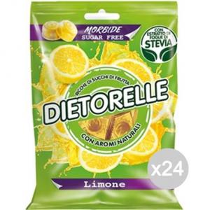 Set 24 DIETORELLE Caramelle Limone Gr 70 Dolci E Alimentari
