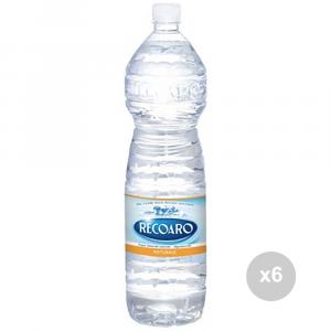 Set 6 RECOARO Acqua naturale lt 1. 5 bevanda analcolica