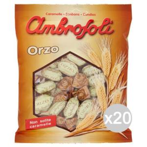 Set 20 AMBROSOLI Caramelle Orzo Gr 150 Dolci E Alimentari