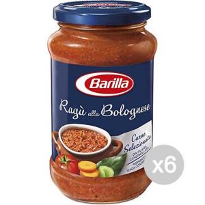 Set 6 BARILLA Sugo Bolognese Ragu Gr 400 Condimento Per Pasta