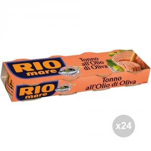 Set 24 RIO MARE Tonno all'olio d'oliva 80x4 condimento per pasta e insalata