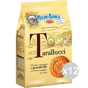 Set 12 MULINO BIANCO Biscotti Tarallucci Gr 350 Per Colazione E Merenda