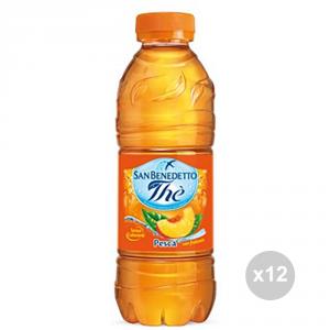Set 12 SAN BENEDETTO The in bottiglia pesca 500ml bevanda analcolica per feste