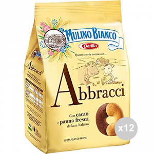 Set 12 MULINO BIANCO Biscotti abbracci gr 350 snack dolce