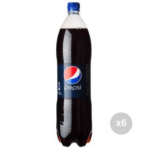 Set 6 PEPSI Bottiglia lt 1. 5 singola bevanda analcolica per feste