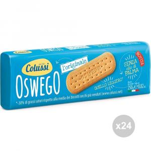 Set 24 COLUSSI Biscotti oswego gr 250 snack dolce