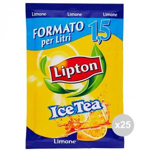 Set 25 LIPTON The busta gr 125 limone bevanda analcolica per feste