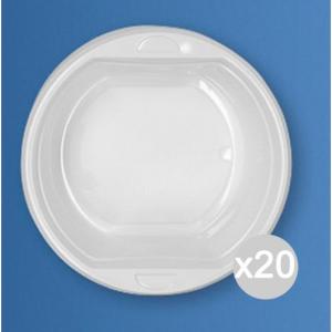 Set 20 ARISTEA 50 Scodelle Plastica Cc 500 156045 Accessorio Per La Tavola E La Cucina