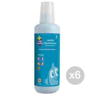 Set 6 Neo Baby Liquido Disinfettante 1000 Inodore Igiene E Cura Del Bambino