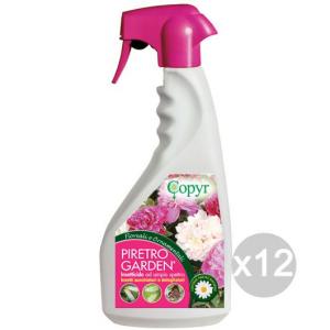 Set 12 COPYR Insetti Spray Piretro Ml750 Piante Fiori Giardino E Cura Delle Piante