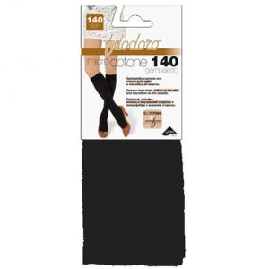 Set 2 FILODORO Micro Cotone 140 Tg 3M Carbon Calze Collant Da Donna Abbigliamento