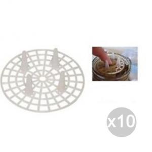 Set 10 BORMIOLI Pressatore Salvagusti X10 Diametro 50 Contenitore Per Alimenti