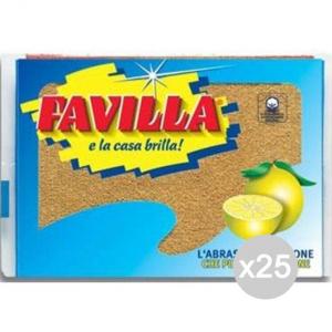 Set 25 FAVILLA X 1 Limone Attrezzo Pulizia Della Casa