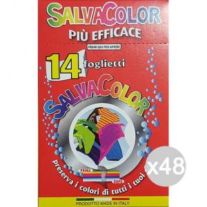 Set 48 ARCOBALENO Salvacol 14 Fogli Classic Acchiappacolore Detersivo Lavatrice