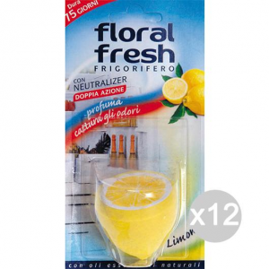 Set 12 FLORAL FRESH Deodorante Frigo X 1 Profumazione E Decorazione Della Casa
