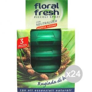 Set 24 FLORAL FRESH Deodorante X3 Petit R/Bosco Piccoli Profumazione Della Casa