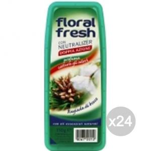 Set 24 FLORAL FRESH Gel Ass Odori Bosco Profumazione E Decorazione Della Casa