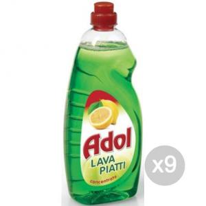 Set 9 EFFEPI Adol Piatti Limone Lt 1,50 Detersivi E Pulizia Della Casa