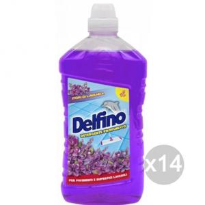 Set 14 DELFINO Pavimenti Lavanda Lt 1 Detersivi E Pulizia Della Casa