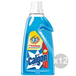Set 12 CALGON Gel Liquido Ml 750 (Calfort) Detersivi E Pulizia Della Casa