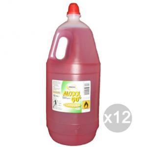 Set 12 EOS Alcool 1500 Ml Denaturato Detersivi E Pulizia Della Casa