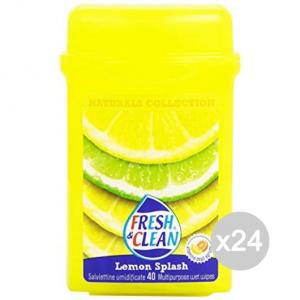 Set 24 FRESH & CLEAN Fresh Clean Salviette Multi Usi Nature X 40 Baratt Igiene E Cura Del Bambino