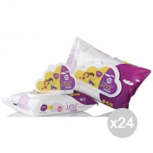 Set 24 CLENDY Salviette Baby X20 Con Coperchiochio 101020 Igiene E Cura Del Bambino