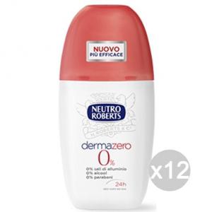 Set 12 DERMAZERO Roberts Deodorante Spray Ml 75 Cura E Igiene Del Corpo