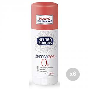 Set 6 DERMAZERO Deodorante roll-on 50 dermazero igiene e cura della persona