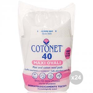 Set 24 COTONET Cotone dischetti x 40 maxi cura del viso
