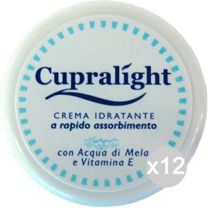 Set 12 CUPRA Crema Light Multiuso Bianca 150 Ml Cura Della Pelle