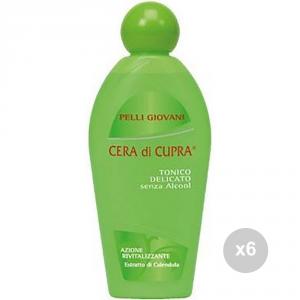 Set 6 CUPRA Tonico delicato pelli giovani ml 200 cura del corpo