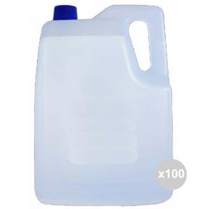 Set 100 EOS Acqua demineralizzata l. 5 bancale distillata pulizia della casa