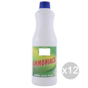 Set 12 EOS Ammoniaca Normale 6% L.1 Detersivi E Pulizia Della Casa