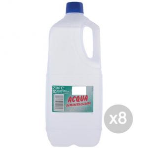 Set 8 EOS Acqua Demineralizzata L.2 Profumata Distillata Accessorio Per Stirare